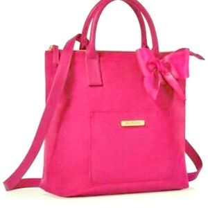 Juicy Couture PINK convertible tote backpack